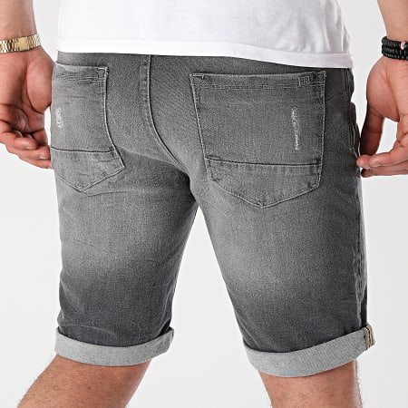 Paname Brothers - Short Jean Bony 2 Gris