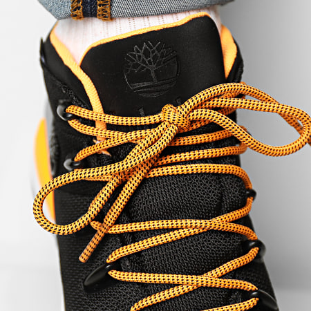 Timberland - Boots Sprint Trekker Waterproof Mid A2R31 Black Mesh Orange