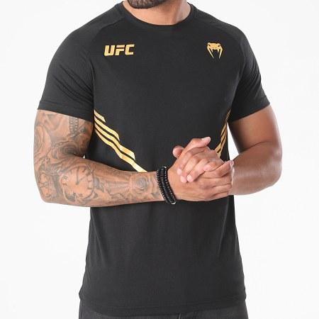 Venum - Tee Shirt UFC Replica 00060 Noir Doré