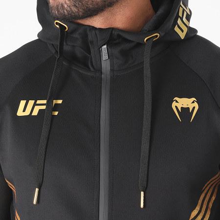 Venum - Veste Zippée Capuche UFC Pro Line 00064 Noir Doré