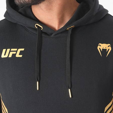 Venum - Sweat Capuche UFC Replica 00067 Noir Doré