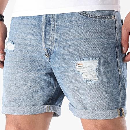 Jack And Jones - Short Jean Chris Originals 12183202 Bleu Denim