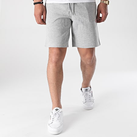 Jack And Jones - Short Jogging Basic 12188454 Gris Chiné