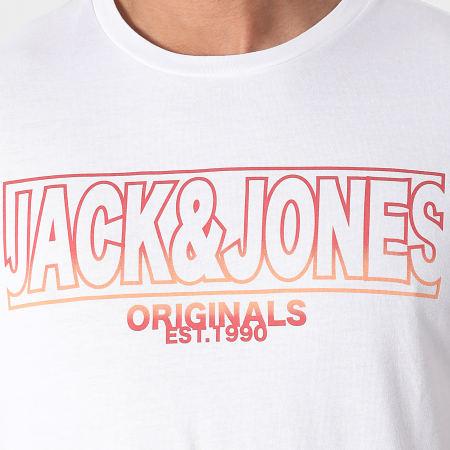 Jack And Jones - Tee Shirt Saturn Blanc