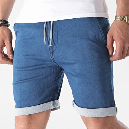 Tiffosi - Short Jogg Jean Slim Indigo 10039209 Bleu Denim
