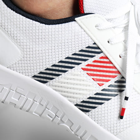 Tommy Hilfiger - Baskets Lightweight Runner Flag Mix 3399 White