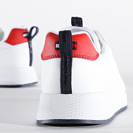 Tommy Jeans - Baskets Femme Technical Detail Runner 1360 Red White Blue