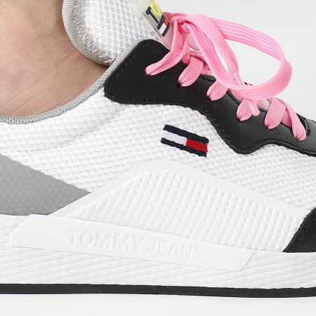 Tommy Jeans - Baskets Femme Technical Detail Runner 1360 Black