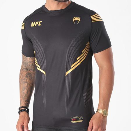 Venum - Tee Shirt UFC Authentic Fight Night 00006 Noir Doré