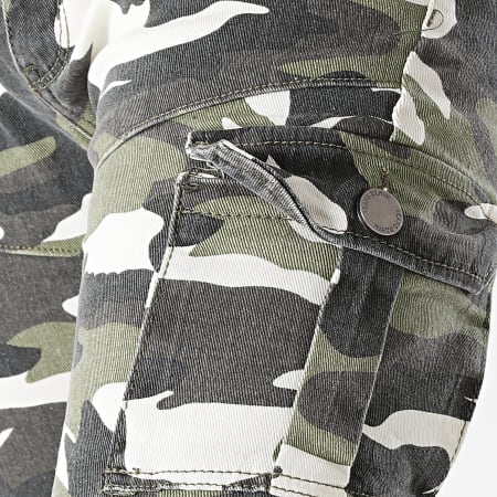 MTX - Jogger Pant Slim 9562 Beige Vert Kaki Camouflage