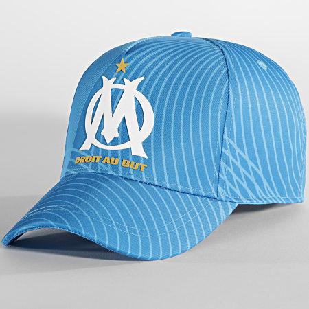 OM - Casquette M20080 Bleu Clair