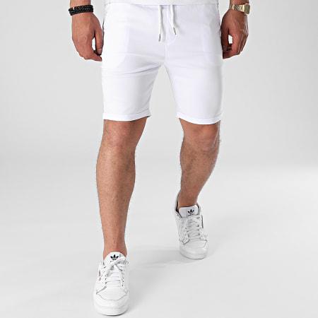 Uniplay - Short Jogging T3617 Blanc