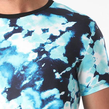 Uniplay - Tee Shirt UY623 Bleu Clair Bleu Marine