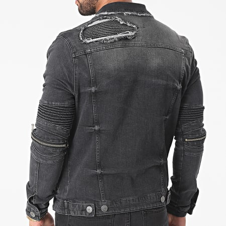 Uniplay - Veste Jean 517 Noir