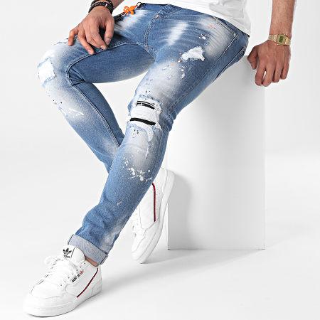 Uniplay - Jean Skinny 476 Bleu Denim