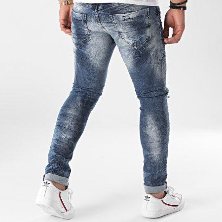 Uniplay - Jean Skinny 485 Bleu Denim