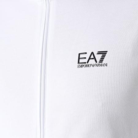 EA7 Emporio Armani - Ensemble De Survêtement 8NPV51-PJ05Z Blanc Noir