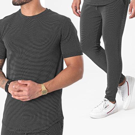 Frilivin - Ensemble Tee Shirt Oversize Pantalon Jogging 15237 Noir