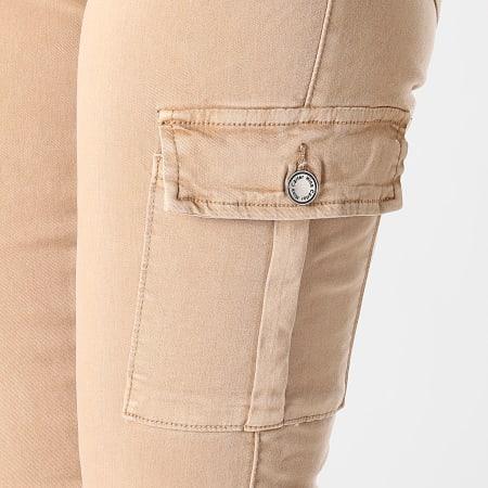 Girls Outfit - Pantalon Cargo Femme S353 Beige