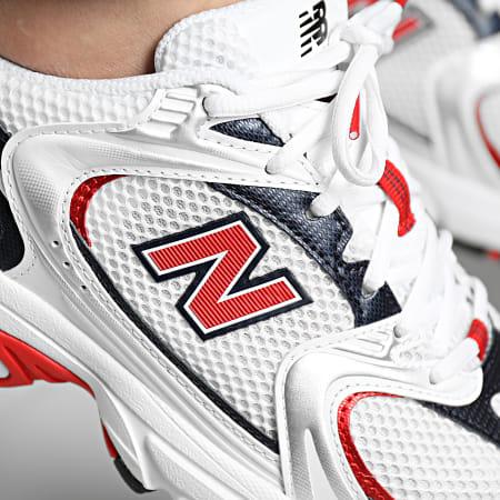 New Balance - Baskets Running 530 MR530UIX White Red