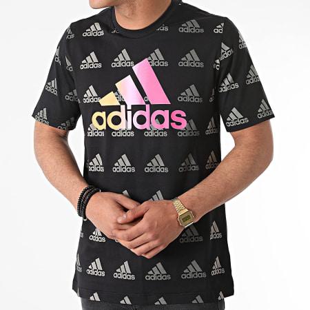 adidas - Tee Shirt Favs GK9588 Noir
