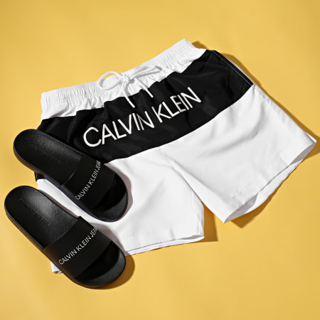 Calvin Klein Jeans - Claquettes Slide Institutional 0062 Black
