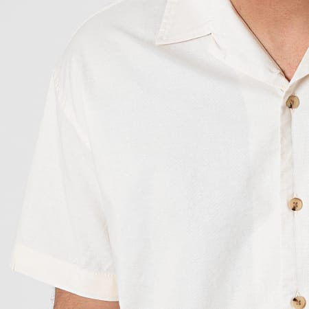 Jack And Jones - Chemise Manches Courtes Tower Beige