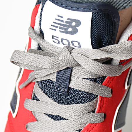 New Balance - Baskets Lifestyle 500 GM500TG1 Rouge