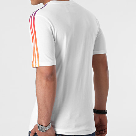 adidas - Tee Shirt GN2418 Blanc