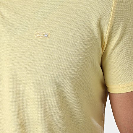 Classic Series - Polo Manches Courtes 1104 Jaune