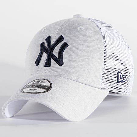 New Era - Casquette Trucker Enfant 9Forty Home Field 60137583 New York Yankees Gris Chiné