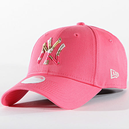 New Era - Casquette Femme 9Forty Camo Infill 60137524 New York Yankees Rose
