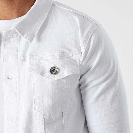 LBO - Veste Jean 1533 Denim Blanc