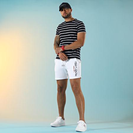 Tommy Hilfiger - Tee Shirt Essential Tommy 0800 Bleu Marine