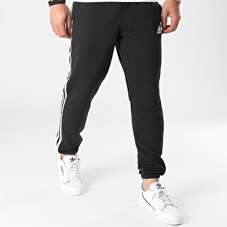 adidas - Pantalon Jogging A Bandes Essentials French Terry Tapered GK8829 Noir