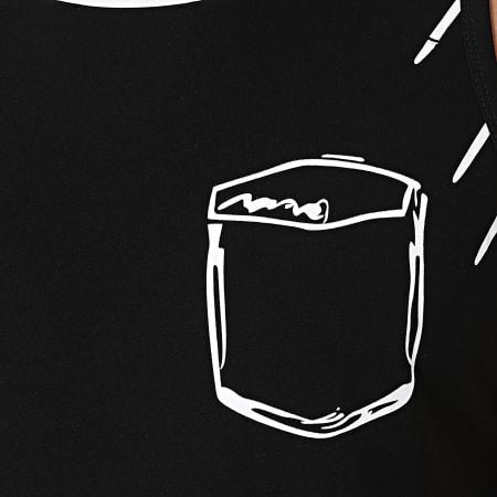 Berry Denim - Débardeur Oversize XP070 Noir