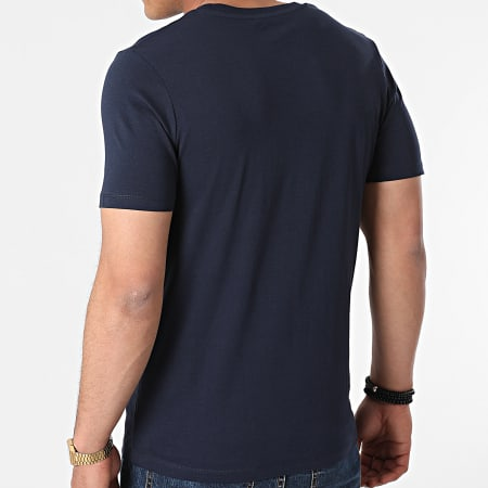 Jack And Jones - Tee Shirt Fly Bleu Marine
