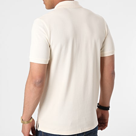 Jack And Jones - Polo Manches Courtes Brink Beige
