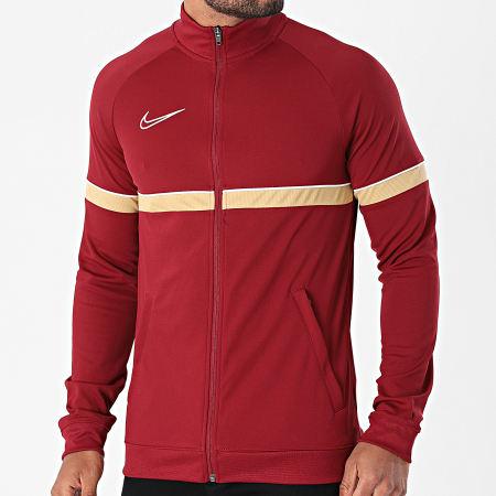 Nike - Veste Zippée Academy 21 Bordeaux