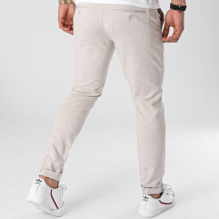 Only And Sons - Pantalon Chino Mark Tap Beige Chiné