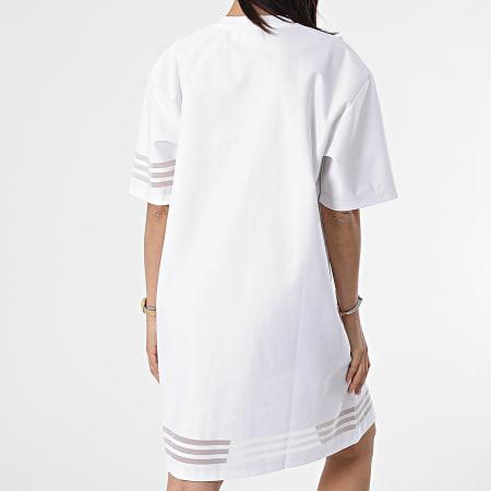 adidas - Robe Tee Shirt Femme GN3248 Blanc