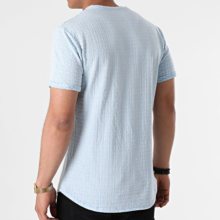 Uniplay - Tee Shirt Oversize T791 Bleu Clair