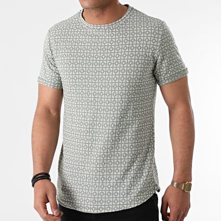 Uniplay - Tee Shirt Oversize T791 Vert Kaki