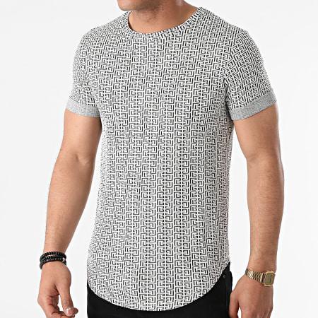 Uniplay - Tee Shirt Oversize UY643 Blanc Renaissance