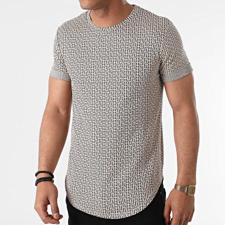 Uniplay - Tee Shirt Oversize UY643 Beige Renaissance