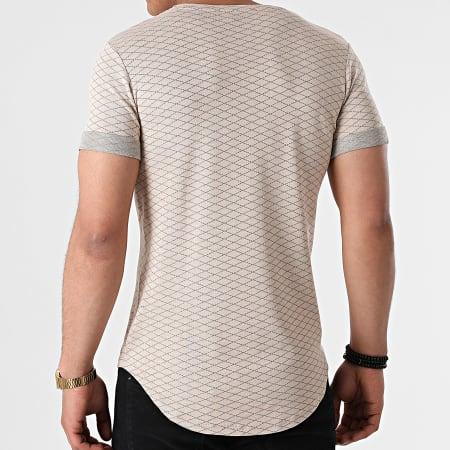 Uniplay - Tee Shirt Oversize UY645 Beige