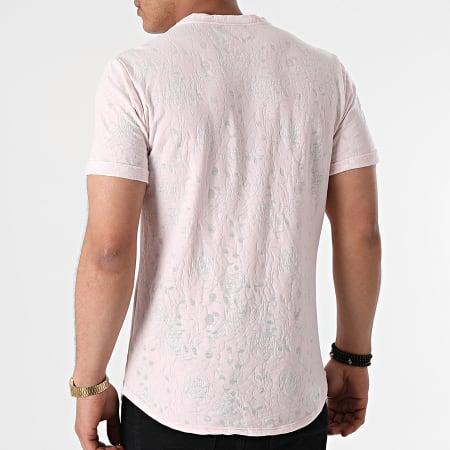 Uniplay - Tee Shirt Oversize T792 Rose Floral