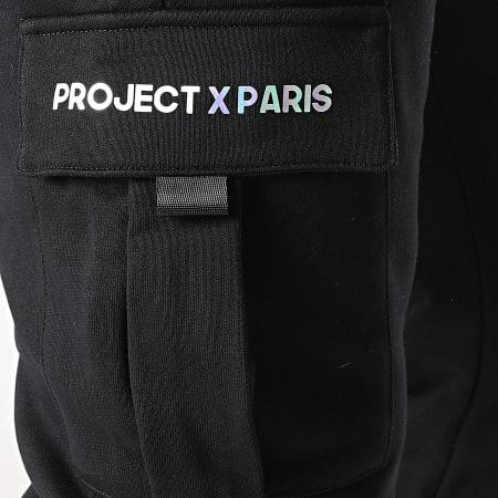 Project X - Pantalon Jogging 2140155 Noir Iridescent