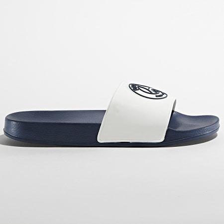PSG - Claquettes 839280 Claxon Bleu Marine Blanc