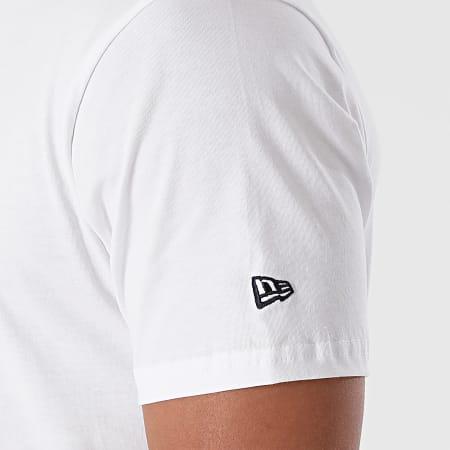 New Era - Tee Shirt MLB Infill Team Logo Los Angeles Dodgers 12369843 Blanc